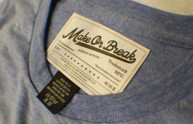 MoB Script Logo Label