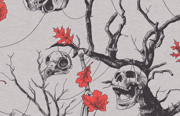 Skulls Allover Detail