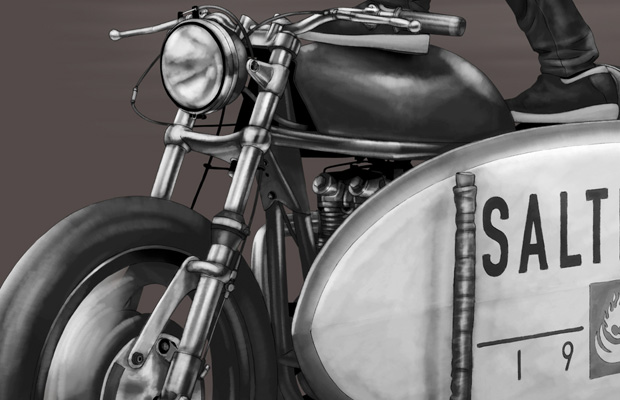Motorbike Surfer