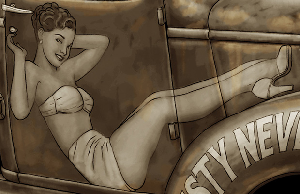 Pin-up Truck